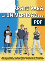 Preparate Para La Universidad
