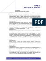 Bab v System Planning Sungai Bolango