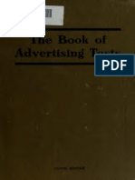 Book of Advertising Tests