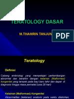 Teratology Dasar(Tt)