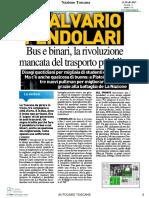 La Nazione Toscana 11.03.201 2