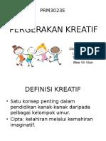 PERGERAKAN-KREATIF