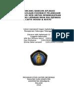 Final Document Proyek CRM