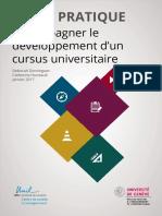 Guide Cursus 2017