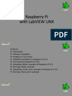 Raspberry Pi With LabVIEW LINX