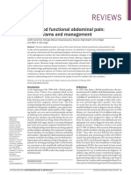 Childhood Functional Abdominal Pain- Mechanisms and Management