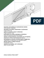 Sistem de Actionare Pentru Porti Batante RotaMatic