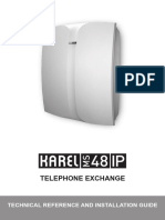 Karel PBX MS48IP Technical Details