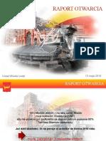 Prezentacja_Raport_Otwarcia_UMŁ - p.o. Prezydenta m. Łodzi Tomasz Sadzyński V.1