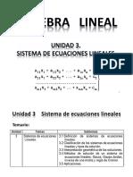 Unidad 3 Sistema de Ecuaciones Lineales 1-39