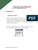Manual Incorporación Fichero Excel Pac-309-Invierno