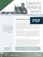 cbs collaborative teacher inquiry