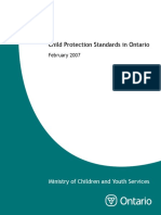 Child Protection Standards in Ontario 2007