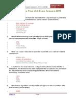 CCNA 4 Practice Final v5.0 Exam Answers 2015 100