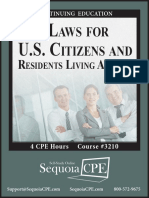 3210B - Tax Laws for U.S. Citizens and Residents Abroad
