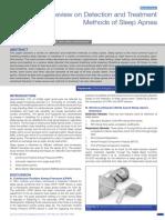 Sleep Apnea Published Paper