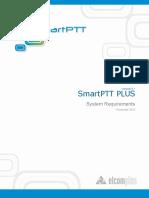 SmartPTT PLUS System Requirements