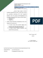 Daftar Tilik Uraian Tugas Pelaksana UKM