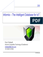Informix - The Intelligent Database for IoT-Annotated