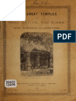 The Great Temples of India, Ceylon, and Burma