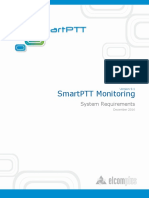 SmartPTT Monitoring System Requirements