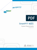 SmartPTT Basic System Requirements