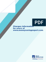 Charges Information for Users of Money Saving Expert