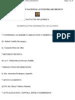 nomenclatura alcanos