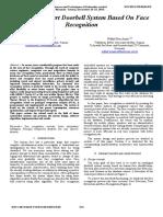 Enhanced Smart Doorbell Facial Recognition (Ayman Ben Thabet, 2015)