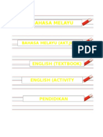 Label Rak Buku (Thn 2)