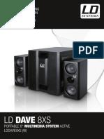LDDAVE8XS LD Systems Bedienungsanleitung en de FR ES PL IT