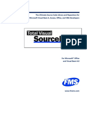 Pdf Visual Basic Developers Guide - Biosciencenutra