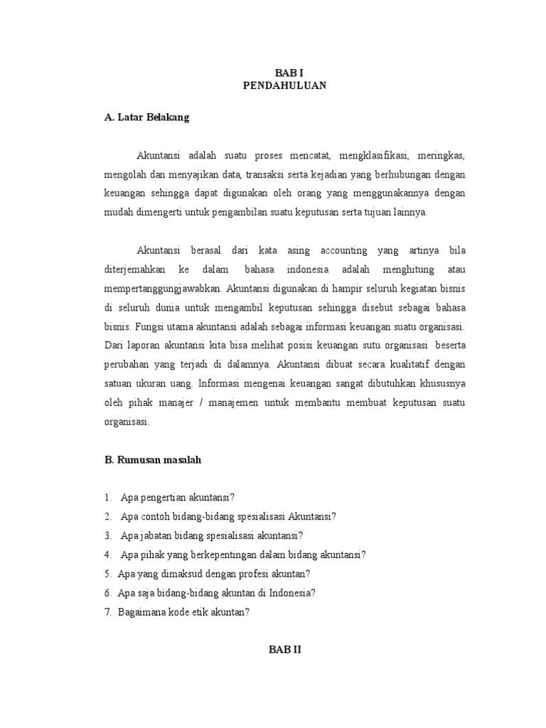 Doc Makalah Akuntansi Nur Fadhilah Academia Edu