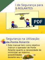 Manual de Seguran a PONTE ROLANTE 1