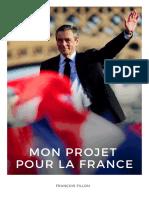 Projet François Fillon 2017
