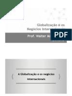 Cap 1 - Globalização e Negócios Internacionais