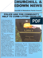Churchill & Blakedown Parish Council Parish News March 2017
