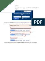 Panduan Memasang Banner Di Blog