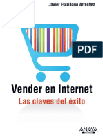 Vender en Internet Javier Escribano Arrechea. Subrayado