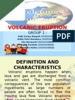 Power Point Volcanic Eruption