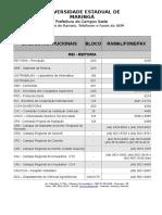 Lista de Ramais Atualizada Em 24-11-2015