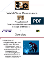 TOTAL PRODUCTIVE MAINTAINANCE