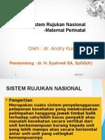 Sistem Rujukan Nasional Maternal Perinatal