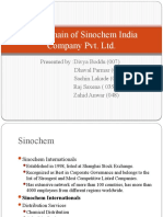 Supply Chain of Sinochem India Company Pvt