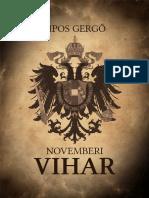 Sipos Gergő -Novemberi Vihar