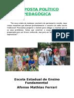 Proposta Político Pedagógica Batovira 2016 - Lurdes