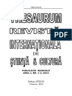 Revista Thesaurum nr. 1, 2_Adriana Raducan