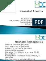 neonatal hemopoeisis