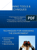 4-Planning Tools & Techniques