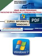 SESION 01 Entorno Windows 7